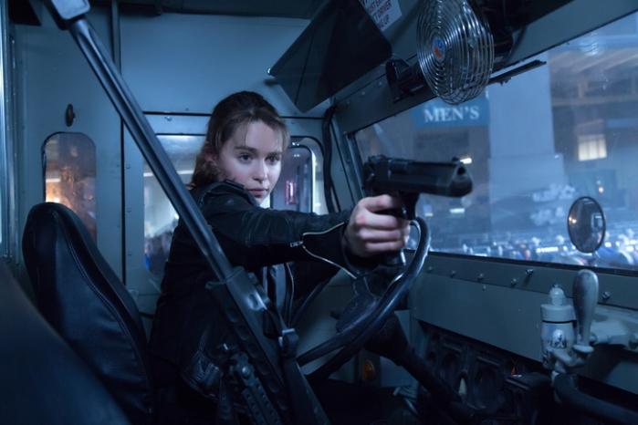 """Emilia Clarke en """"Terminator Genisys""""."""