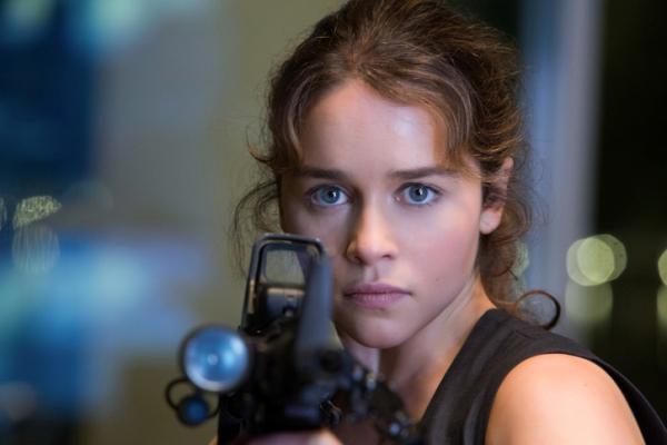 "Emilia Clarke es Sarah Connor en ""Terminator Genisys""."
