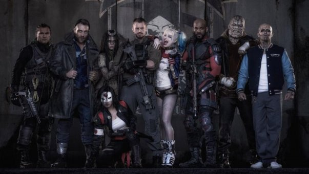 "Protagonistas de ""Suicide Squad""."