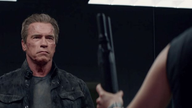 "Arnorld Schwarzenegger en ""Terminator Genisys""."