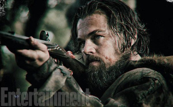 "Leonardo DiCaprio en ""The Revenant"". / Foto fuente: Entertainment Weekly"