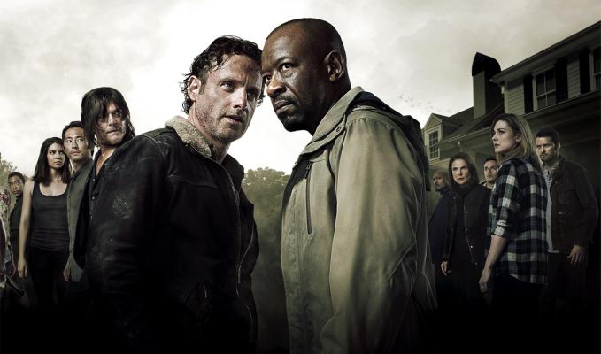 "Imagen promocional de la 6ta. temporada ""The Walking Dead""."