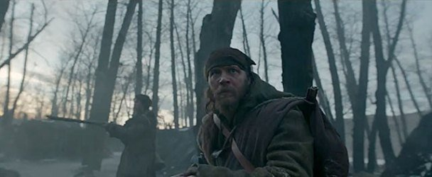 "Tom Hardy es John Fitzgerald en ""The revenant""."