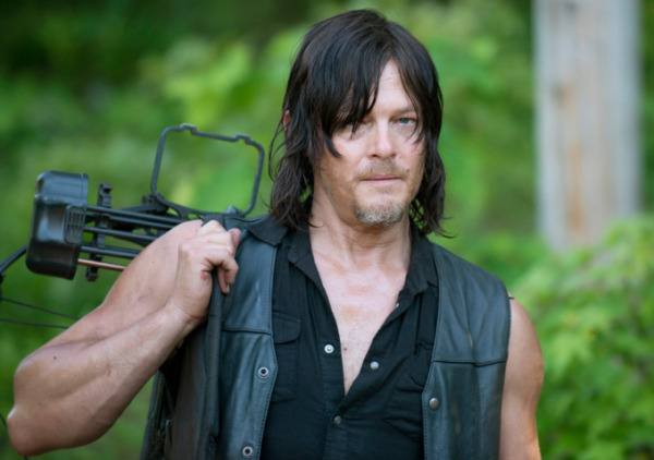 "Norman Reedus es Daryl Dixon en ""The Walking Dead""."
