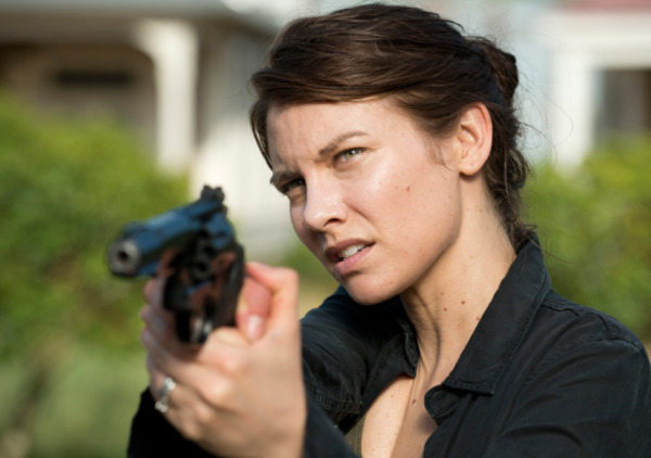 "Lauren Cohan es Maggie Greene en ""The Walking Dead""."