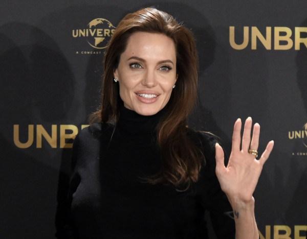 """Angelina Jolie actualmente da los toques finales a su nuevo film """"By the Sea"""", donde actúa junto a Brad Pitt. / Foto fuente: Tobias Schwarz/AFP/Getty / blog.seattlepi.com"""