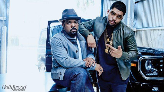 Ice Cube y O'Shea Jackson Jr.