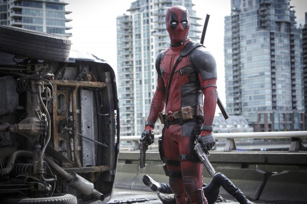 "Escena de ""Deadpool""."