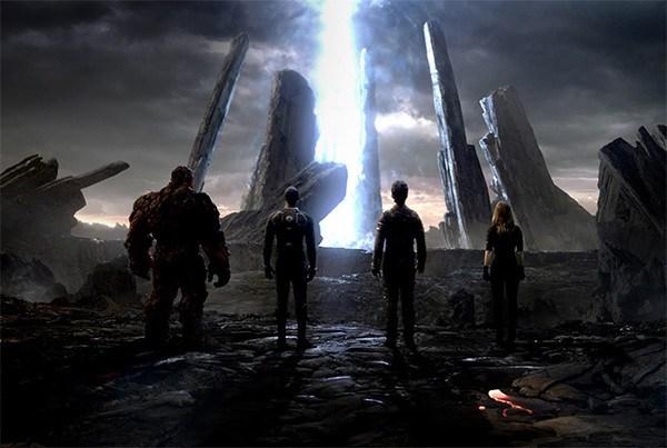 """Escena de """"Fantastic Four"""" (2015)."""