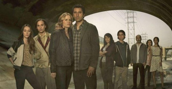 "Protagonistas de ""Fear the Walking Dead""."