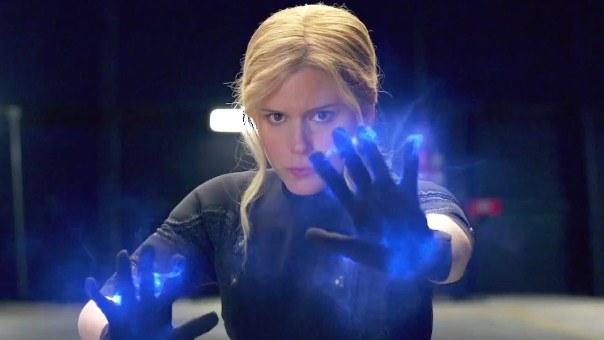 "Kate Mara es Sue Storm en ""Fastastic Four""."