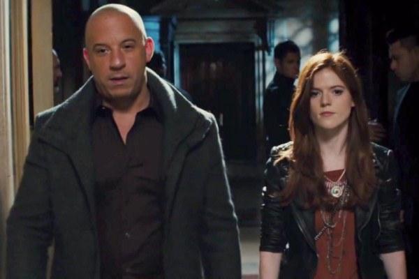 """Vin Diesel es Kaulder y Rose Leslie es Chloe en """"The last Witch Hunter""""."""