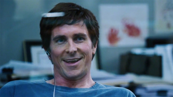 "Christian Bale es Michael Burry en ""The Big Short""."