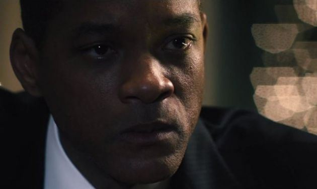 "Will Smith es el Dr. Bennet Omalu en ""Concussion""."