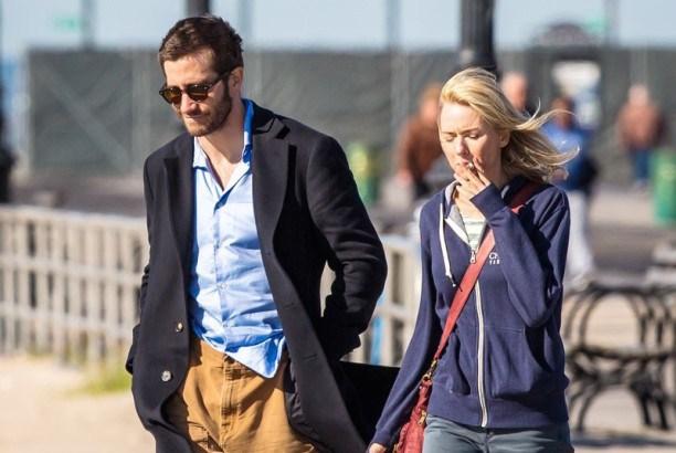 "Jake Gyllenhaal y Naomi Watts en ""Demolition""."