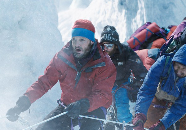 "Jason Clarke es Rob Hall en ""Everest"" (2015)."
