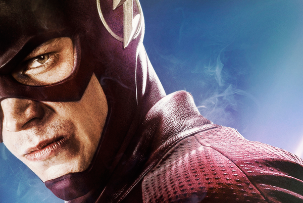 "Grant Gustin como Barry Allen / Flash en el poster oficial de la 2da. temporada de ""The Flash""."