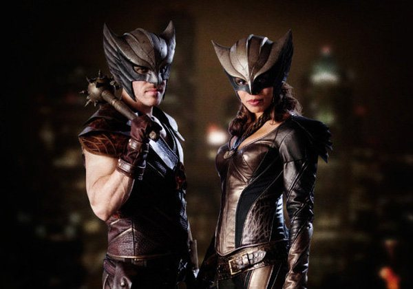 "Hawkman y Hawkgirl en ""Legends of Tomorrow""."