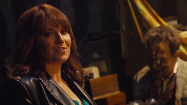 "Lucy Lawless es Ruby en ""Ash vs. Evil Dead""."