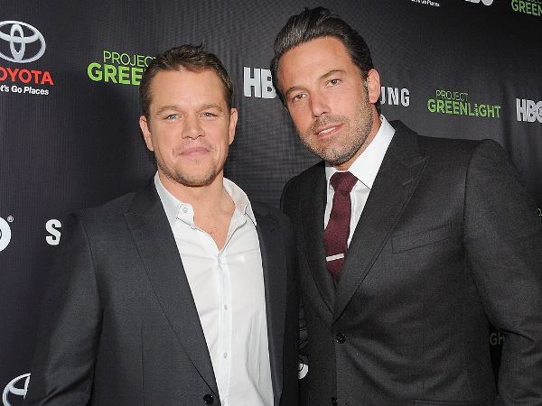 "Matt Damon y Ben Affleck produciran la película de HBO ""Thirst"". / Fuente foto: Angela Weiss/Getty / www.people.com"