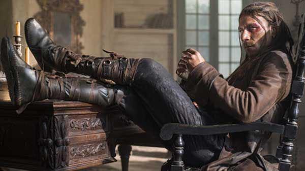 "Zach McGowan es el Capitán Charles Vane en ""Black Sails"" (3ra. temporada)."