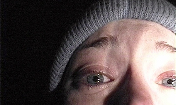 "Heather Donahue en ""The Blair Witch Project"" (1999)."