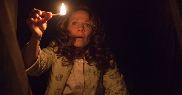 "Lili Taylor en ""The Conjuring"" (2013)."