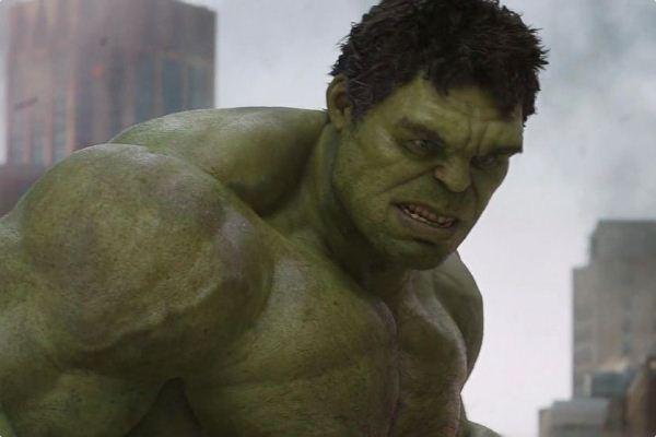 "Imagen de Hulk en ""The Avengers"" (2012)."