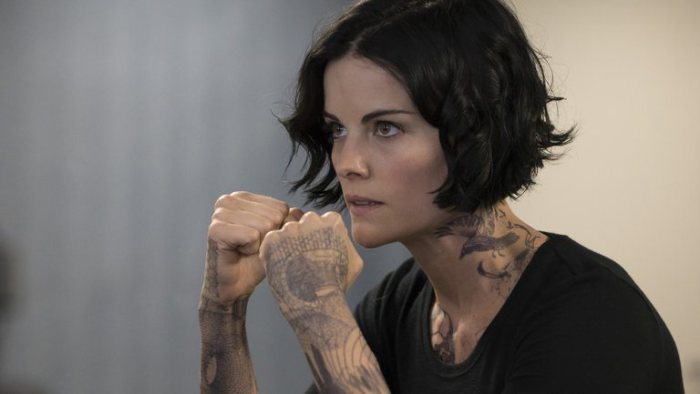 "Jamie Alexander es Jane Doe en ""Blindspot"". / Fuente foto: Virginia Sherwood/NBC"