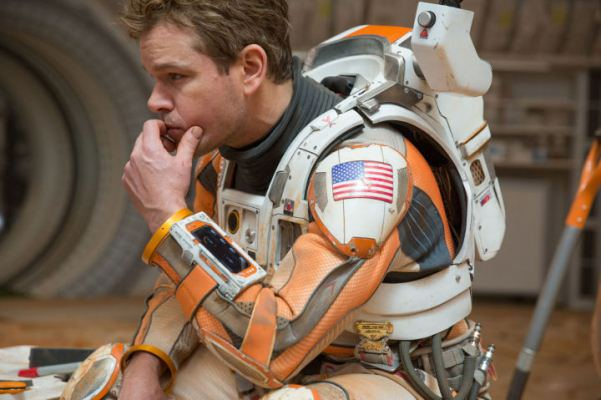 "Matt Damon en ""The Martian""."