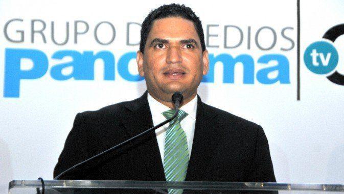 Miguel Medina, presidente de medios Panorama, en la presentación de la nueva programación del Canal 25.