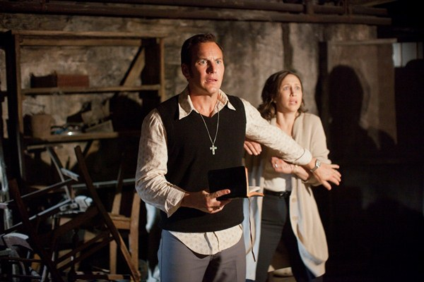 """Patrick Wilson y Vera Farmiga en """"The Conjuring"""" (2013)."""