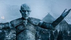 """Imagen del rey de los Caminantes Blancos en uno de los capitulos finales de """"Games of Thrones"""" (T6)."""