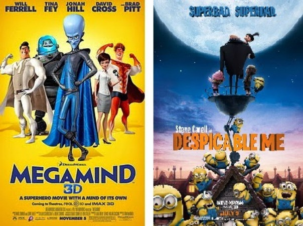 Megamind vs Despicable Me