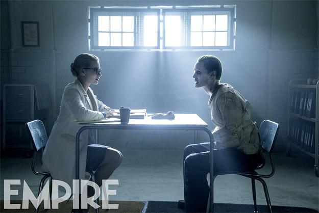 """Margot Robbie y Jared Leto en """"Suicide Squad""""."""