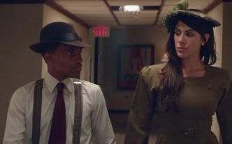 """Fausto Mata y Crystal Jiménez en """"Detective Willy""""."""