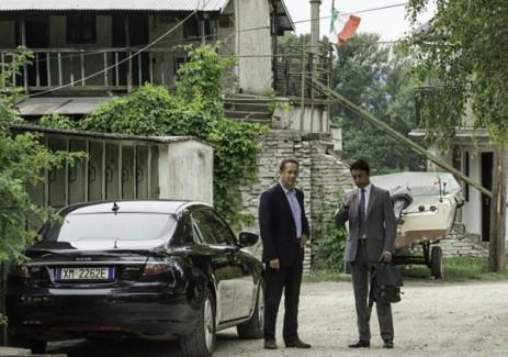 "Tom Hanks y Irrfan Khan en ""Inferno""."