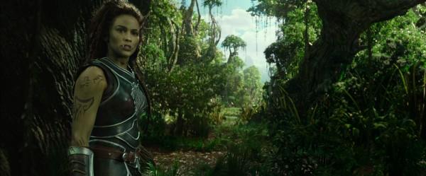 "Paula Patton como Garona en ""Warcraft""."
