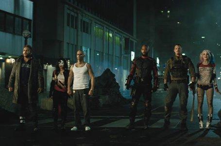 """Escena de """"Suicide Squad""""."""