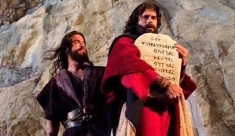 """Escena de """"Os dez mandamentos - Moisés y los 10 Mandamientos"""" (2015, Rede Record)."""