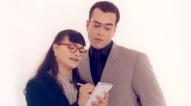 """Ana María Orozco y Jorge Enrique Abello en """"Yo soy Betty la fea"""" (1999, RCTV)."""