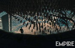 "Escena del prólogo ""The Crossing"", del film ""Alien: Covenant""."