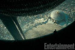 """Escena del prólogo """"The Crossing"""", de """"Alien: Covenant""""."""