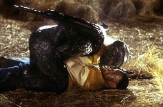 "Escena de ""Jeepers Creepers 2"" (2003)."