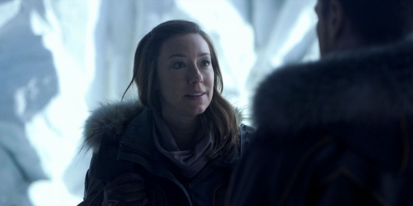 "Molly Parker es Maureen Robinson en ""Lost in Space"". / Image via Netflix"